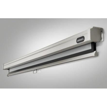 Pantalla de proyección de techo de 180 x 135 cm manual de PRO
