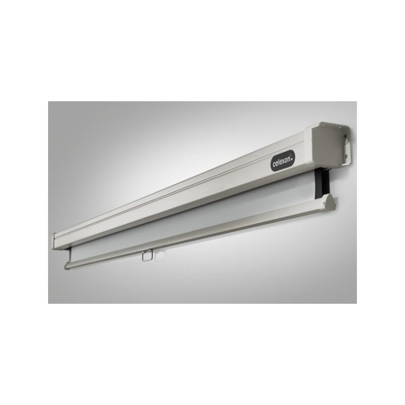Pantalla de proyección de techo de 240 x 240 cm manual de PRO