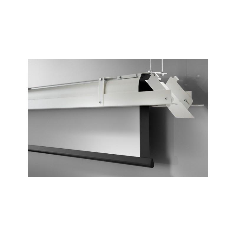 Ecran encastrable au plafond celexon expert motoris 200 x 200 cm - Support videoprojecteur plafond encastrable ...