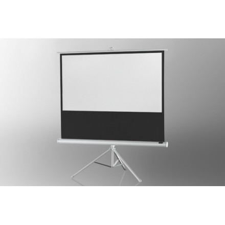 Projection screen on foot ceiling Economy 133 x 75 cm - White Edition