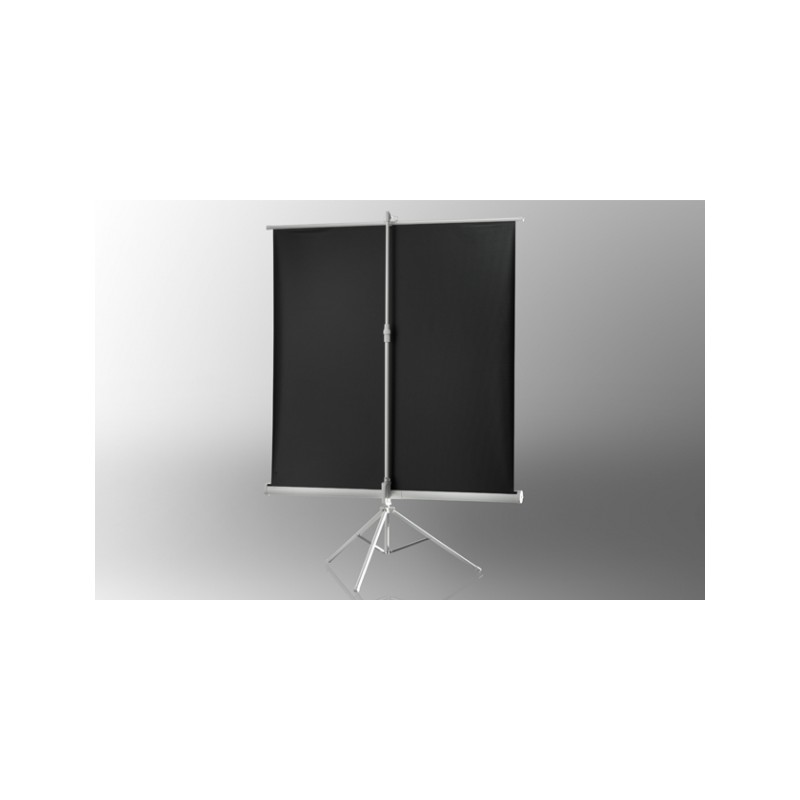 Projection screen on foot ceiling Economy 211 x 160 cm - White Edition - image 12053