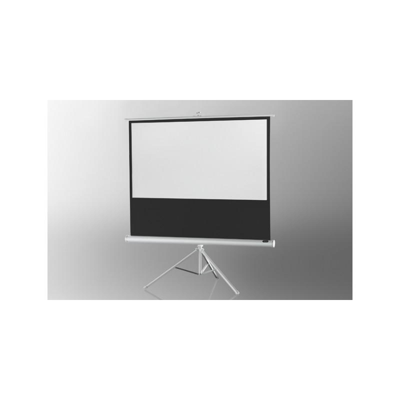 Projection screen on foot ceiling Economy 244 x 138 cm - White Edition