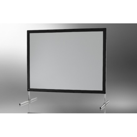Projection screen on frame ceiling Mobile Expert 244 x 183 cm, projection from the front