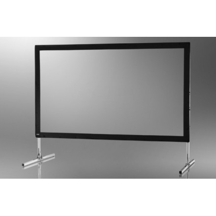 Projection screen on frame ceiling Mobile Expert 366 x 206 cm, projection from the front