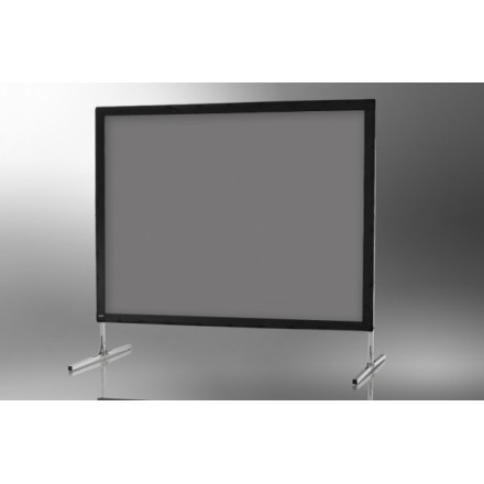 Projection screen on frame ceiling Mobile Expert 366 x 274 cm, projection by l, rear