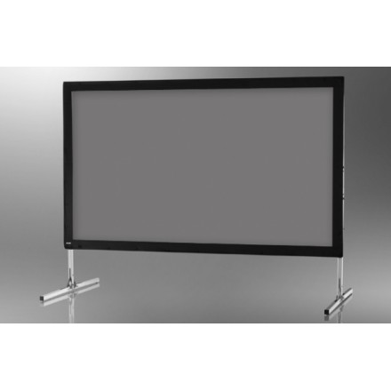 Projection screen on frame ceiling Mobile Expert' 203 x 114 cm, projection by rear