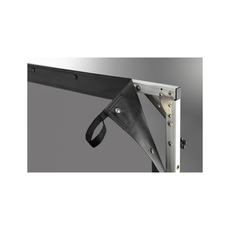 Projection screen on frame ceiling 'Mobile Expert' 305 x 172 cm, projection by l, rear - image 12291