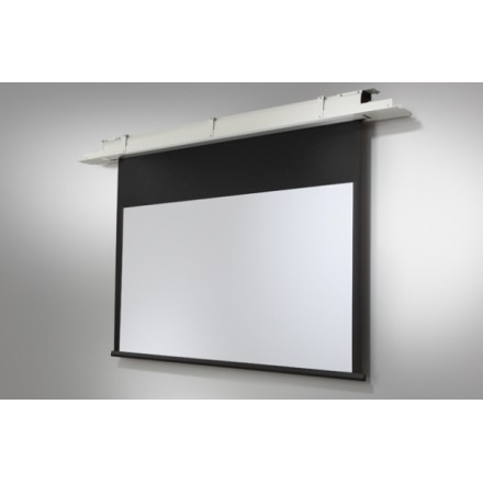 Built-in screen on the ceiling ceiling Expert motoris 160 x 100 cm - Format 16:10