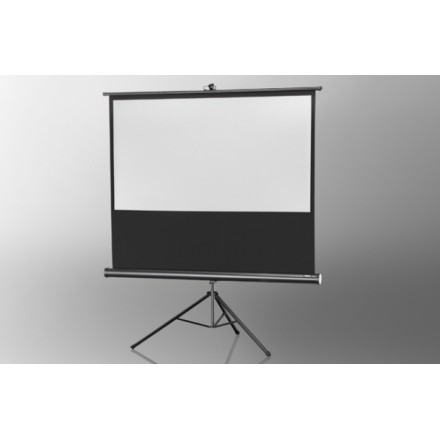 Projection screen on foot ceiling Economy 133 x 75 cm