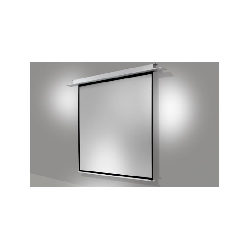 Ecran encastrable au plafond celexon motoris pro 220 x 220 cm - Ecran de projection encastrable plafond ...