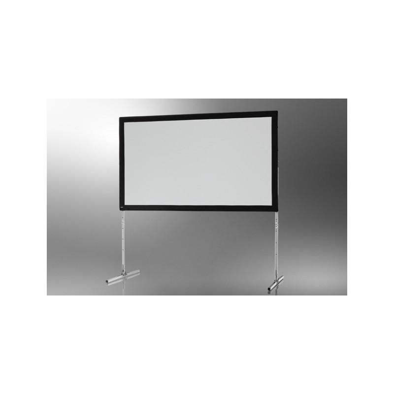 ecran de projection sur cadre mobil expert 203 x 127 cm projection par l arri re. Black Bedroom Furniture Sets. Home Design Ideas