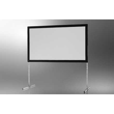 Projection screen on frame ceiling Mobile Expert 406 x 254 cm, projection from the front