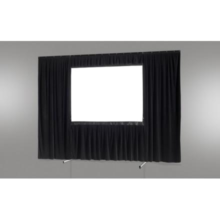 Kit de rideau 4 pièces pour les écrans celexon Mobile Expert 244 x 183 cm
