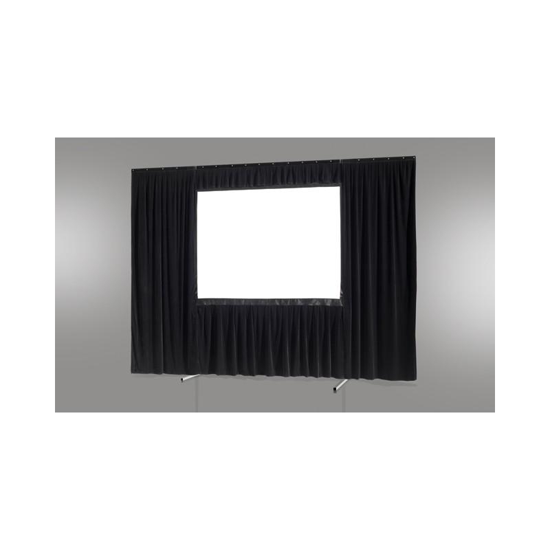 Kit de rideau 4 pièces pour les écrans celexon Mobile Expert 244 x 137 cm - image 12836