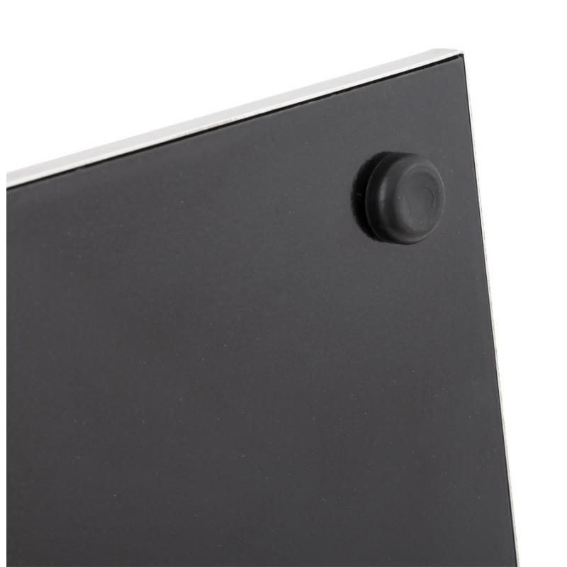 Tabouret design carré rotatif mi-hauteur ESCAULT MINI (blanc) - image 16056