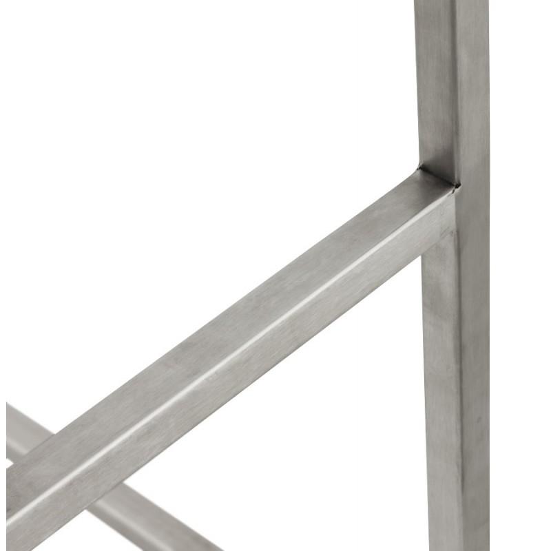 Tabouret design épuré LOIRET mi-hauteur (noir) - image 16103