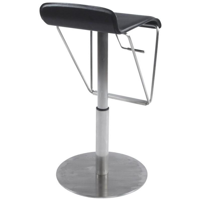 Bar stool rotating and adjustable ARIEGE (black) - image 16250