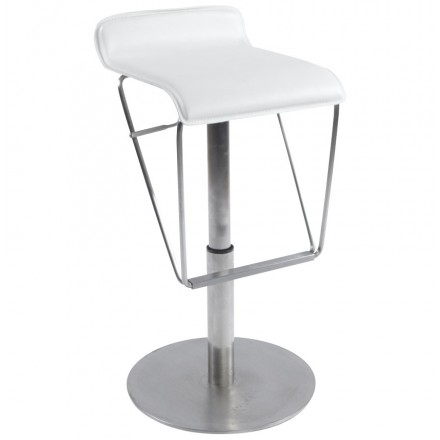 ARIEGE Bar stool rotating and adjustable (white)