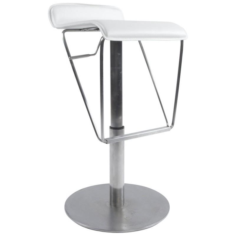 Tabouret de bar ARIEGE rotatif et réglable (blanc) - image 16259