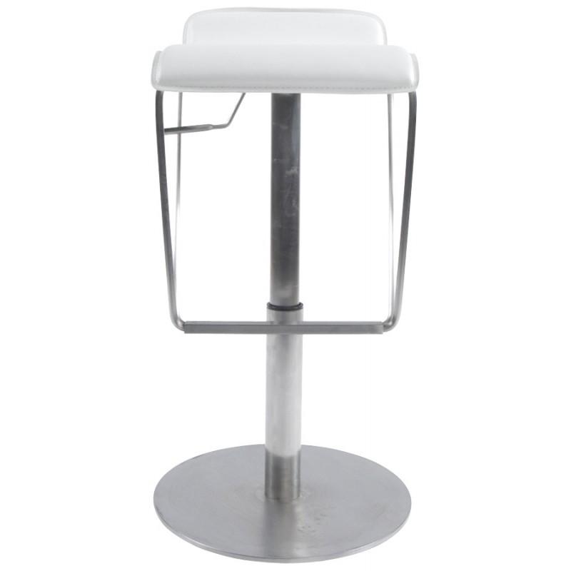 Tabouret de bar ARIEGE rotatif et réglable (blanc) - image 16260