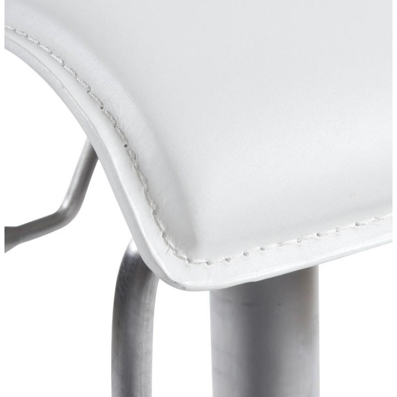 Tabouret de bar ARIEGE rotatif et réglable (blanc) - image 16262
