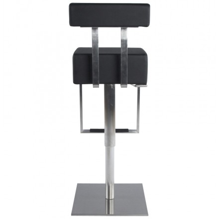 Tabouret De Bar Moderne Rotatif Et Reglable Gardon Noir Amp Story 2905