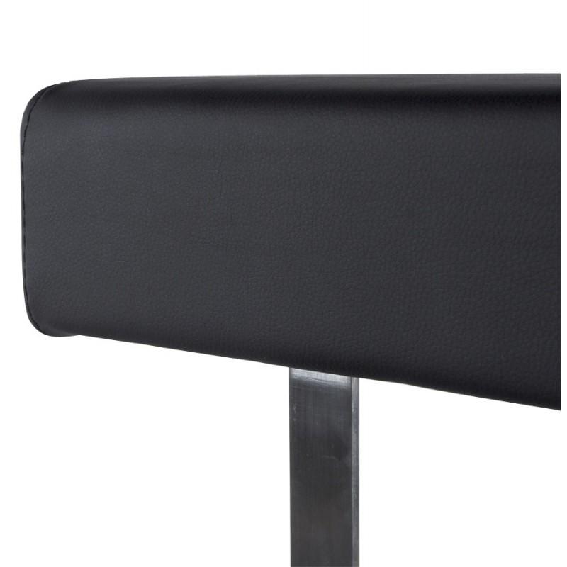Tabouret de bar moderne rotatif et réglable GARDON (noir) - image 16362