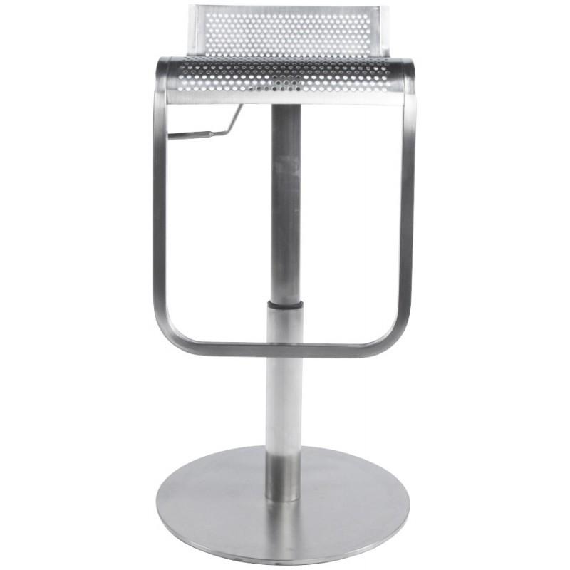 Tabouret de bar design VILAINE en acier brossé (acier) - image 16464