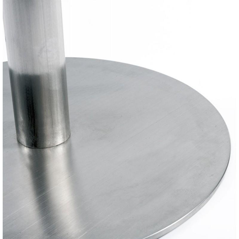 Tabouret de bar design VILAINE en acier brossé (acier) - image 16469
