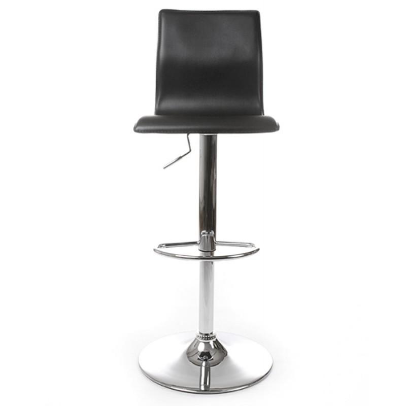 Tabouret de bar MARNE rotatif et réglable (noir) - image 16555