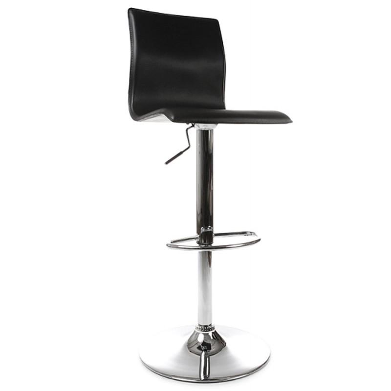 Tabouret de bar MARNE rotatif et réglable (noir) - image 16557