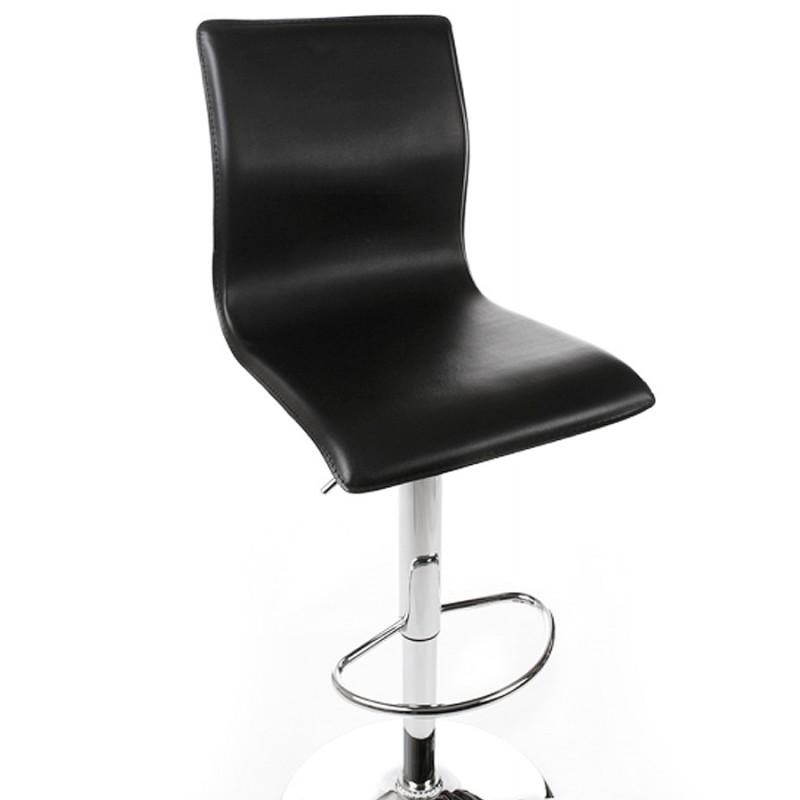 Tabouret de bar MARNE rotatif et réglable (noir) - image 16560