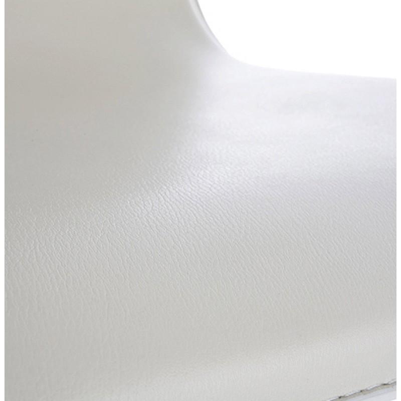 Tabouret de bar MARNE rotatif et réglable (crème) - image 16571