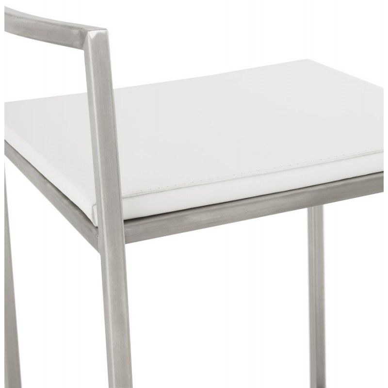 Bar stool design square DORDOE (white) - image 16637