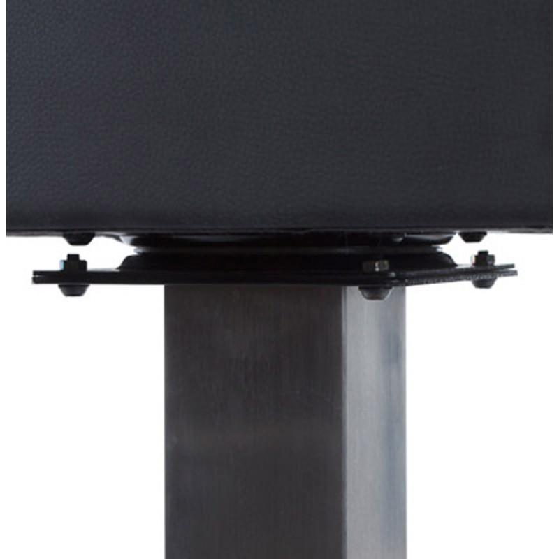 Design swivel bar stool OISE rotary (black) - image 16647