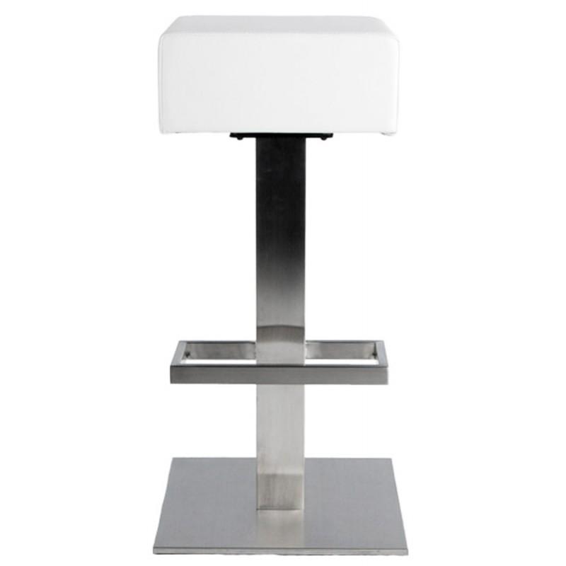 Diseño taburete de la barra giratoria OISE (blanco) - image 16655