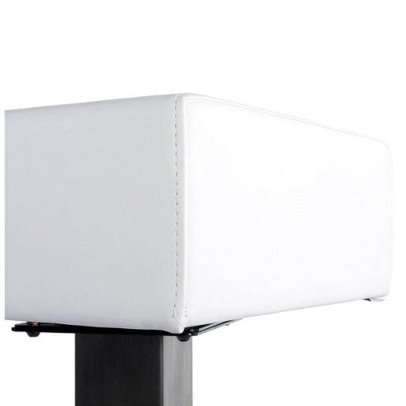 Diseño taburete de la barra giratoria OISE (blanco) - image 16658