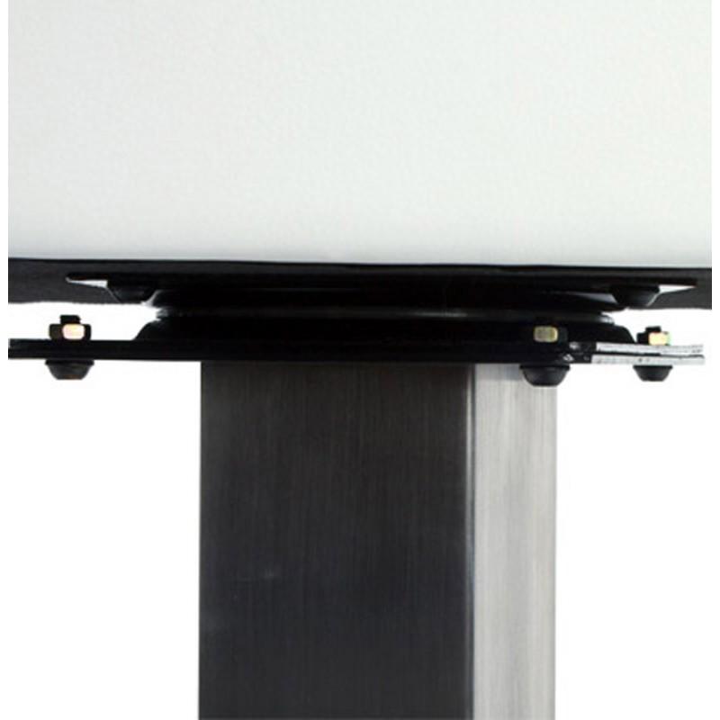 Diseño taburete de la barra giratoria OISE (blanco) - image 16659