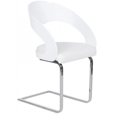 Contemporánea silla LOING (blanco)