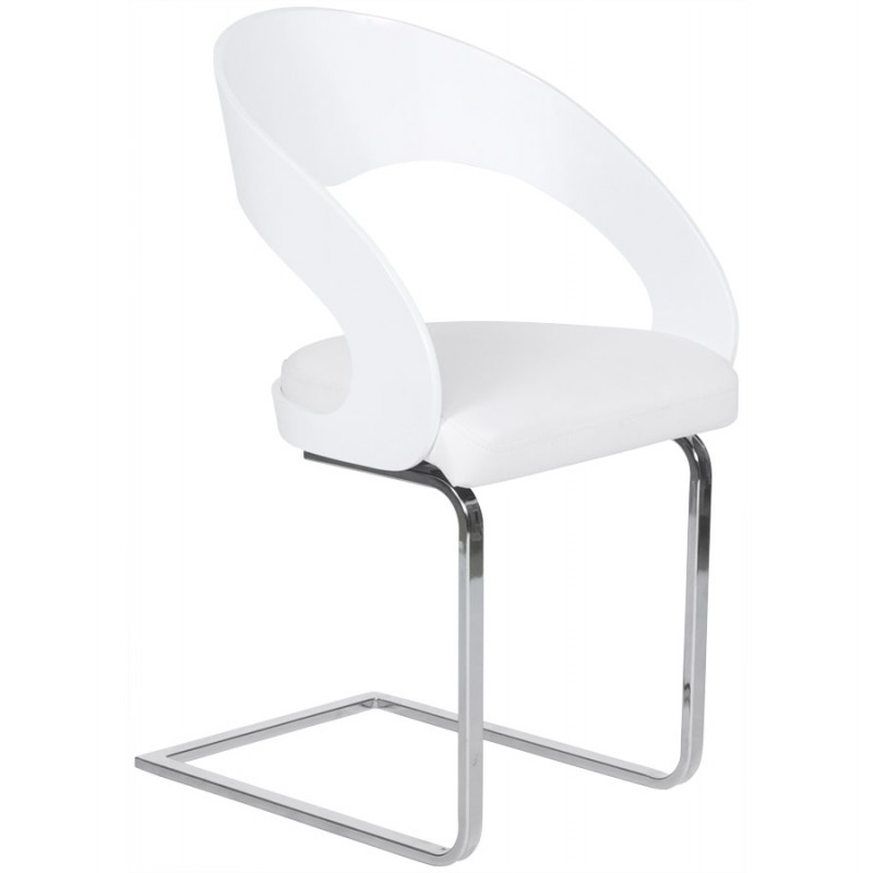 Chaise Contemporaine LOING Blanc