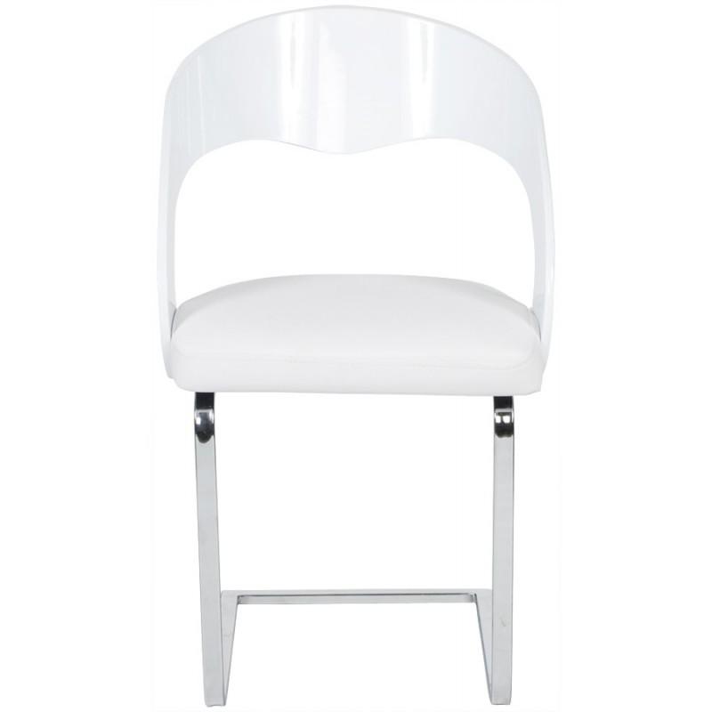 Chaise contemporaine LOING (blanc) - image 16743
