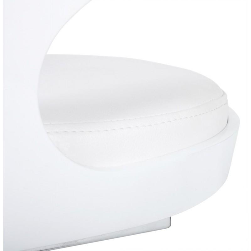 Chaise contemporaine LOING (blanc) - image 16747
