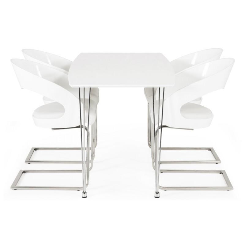 Chaise contemporaine LOING (blanc) - image 16751