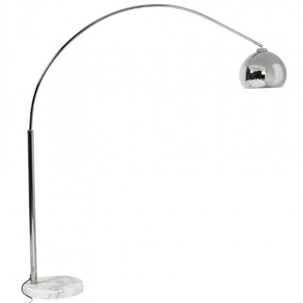 MOEROL SMALL CHROME design floor lamp chrome-plated steel (middle and chrome)