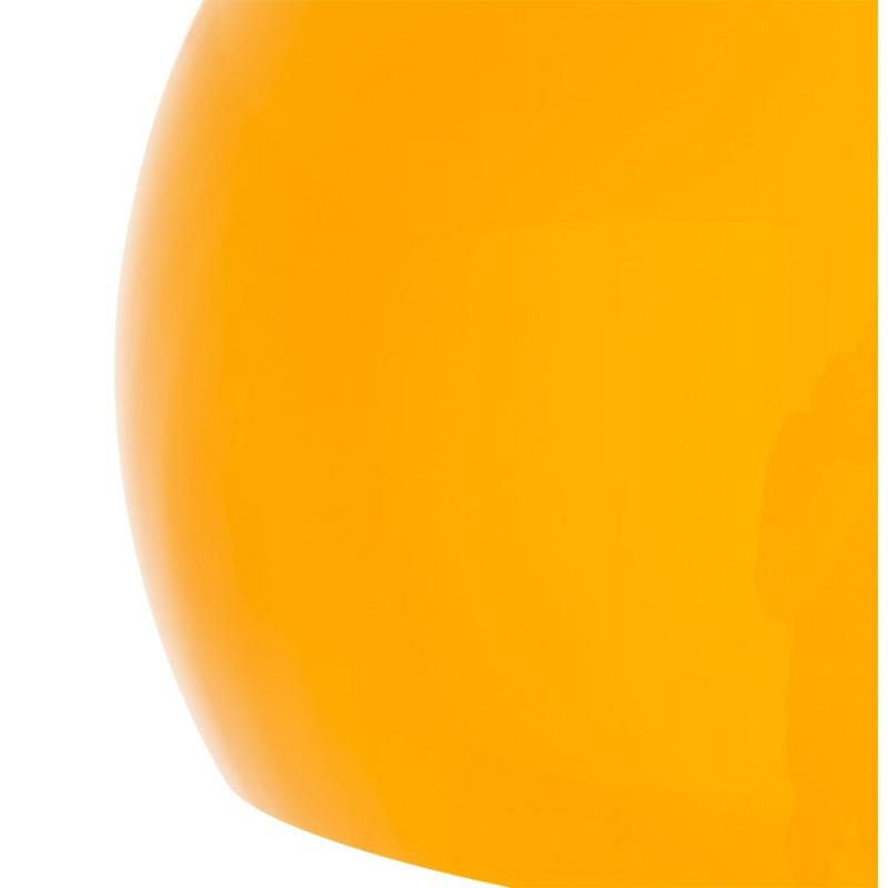 Lampe sur pied design MOEROL SMALL en acier chromé (moyenne et orange) - image 16960