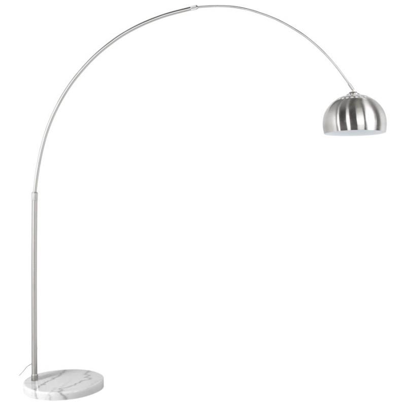 Lampe Sur Pied Design Wilson En Acier Bross 233 Acier Bross 233