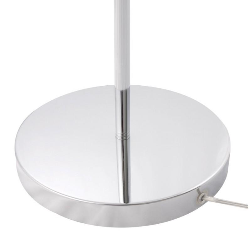 Lámpara de pie de diseño 10 brazo flexible ROCHE en acero cromado (cromo) - image 17104