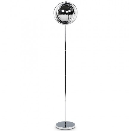 TOURACO BIG Lamp design foot in chromed steel (chrome)