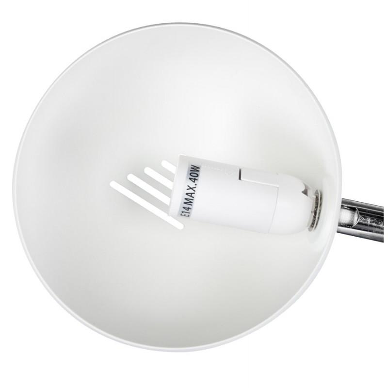 Diseño de lámpara 5 tonos ROLLIER pintado metal (blanco) - image 17122