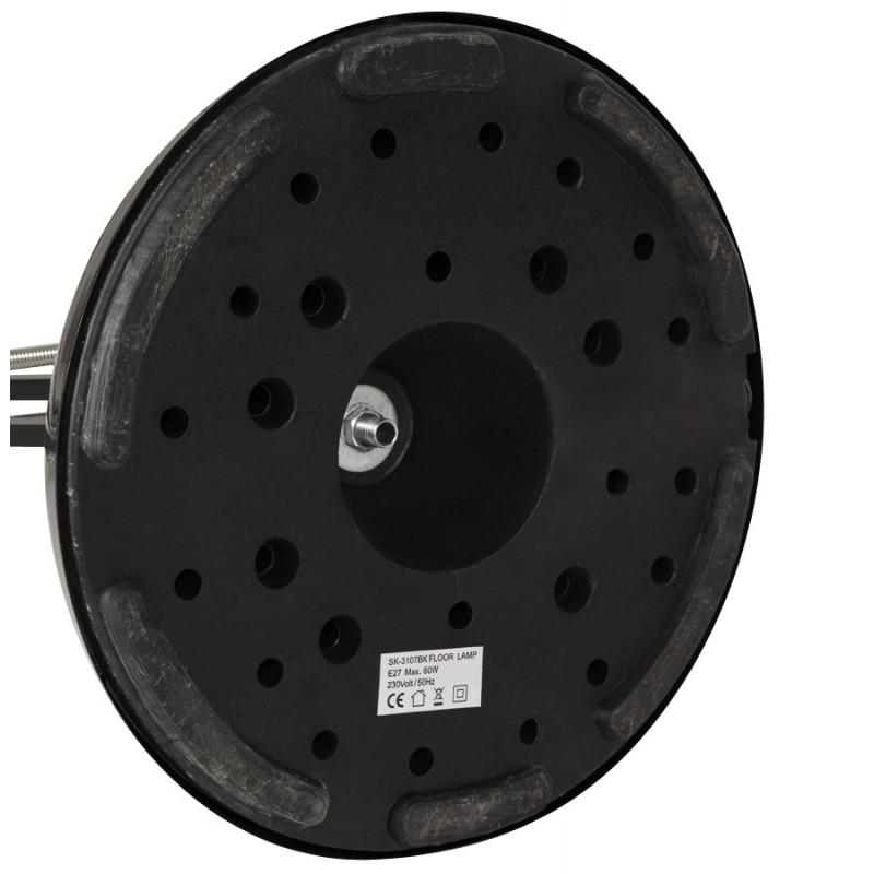 Lampe sur pied design ROLLIER en métal (noir) - image 17145